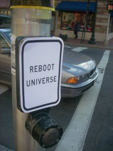 reboot universe button